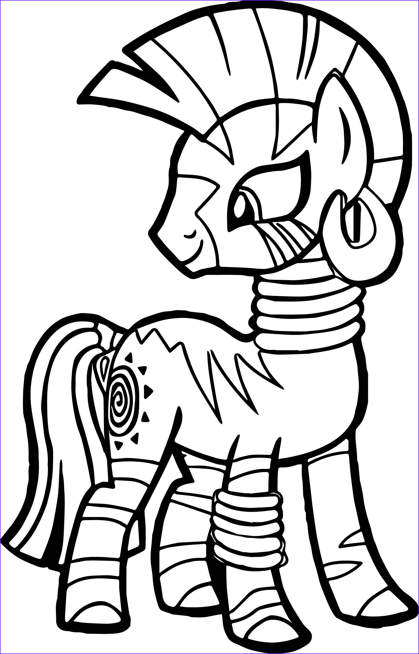 zecora look back coloring page