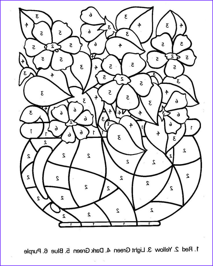 Color by Number Coloring Books for Adults Awesome Photos Free Printable Color by Number Coloring Pages Best