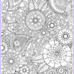 Color Therapy Coloring Pages Cool Collection Items Similar To Paisley Floral Colour With Me Hello