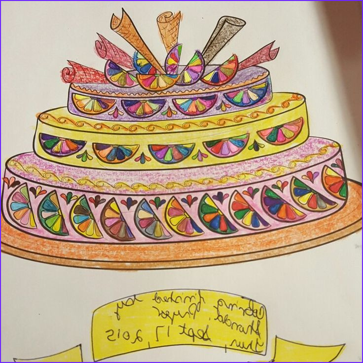 Colorama Coloring Books Cool Photos Lemon Cake Coloring Page I Color From the Colorama