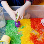 Coloring Activities For Toddlers Awesome Gallery Rainbow Rice Sensory Bin Busy Toddler
