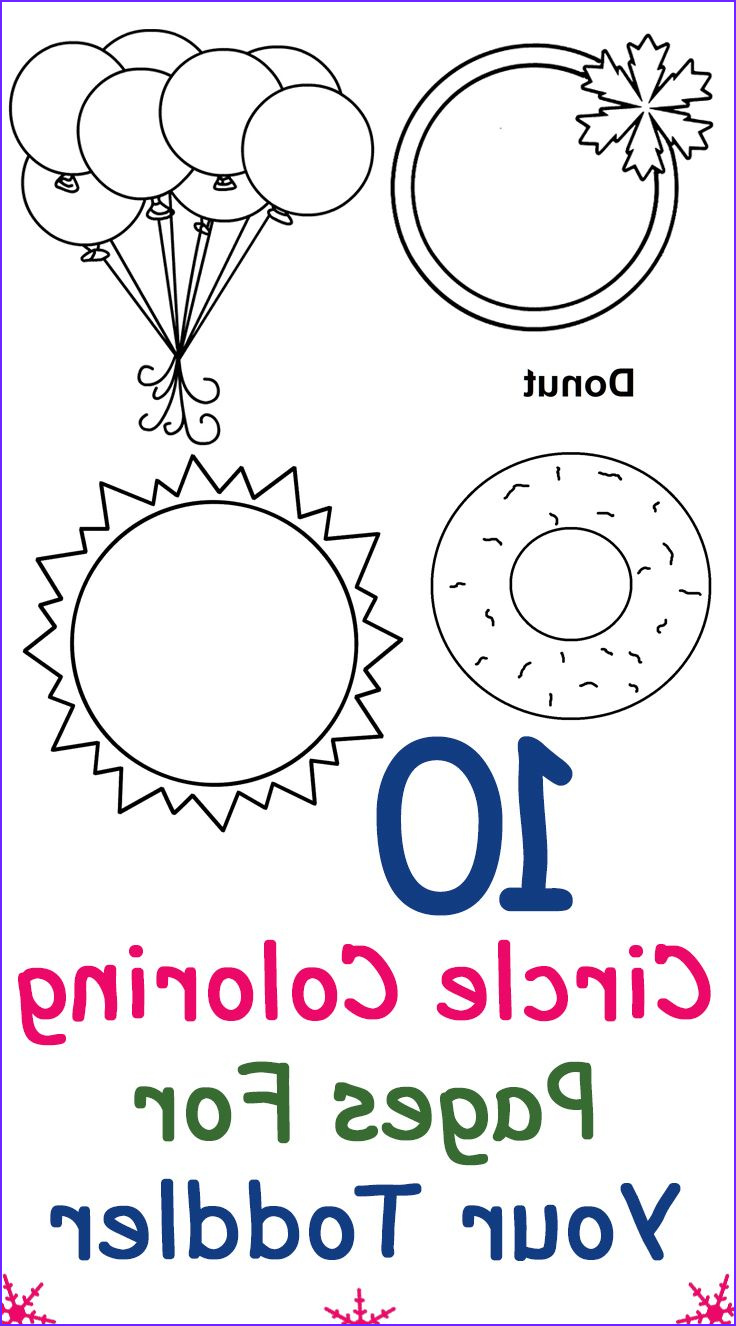 Coloring Activities for toddlers Beautiful Photography top 25 Free Printable Circle Coloring Pages Line