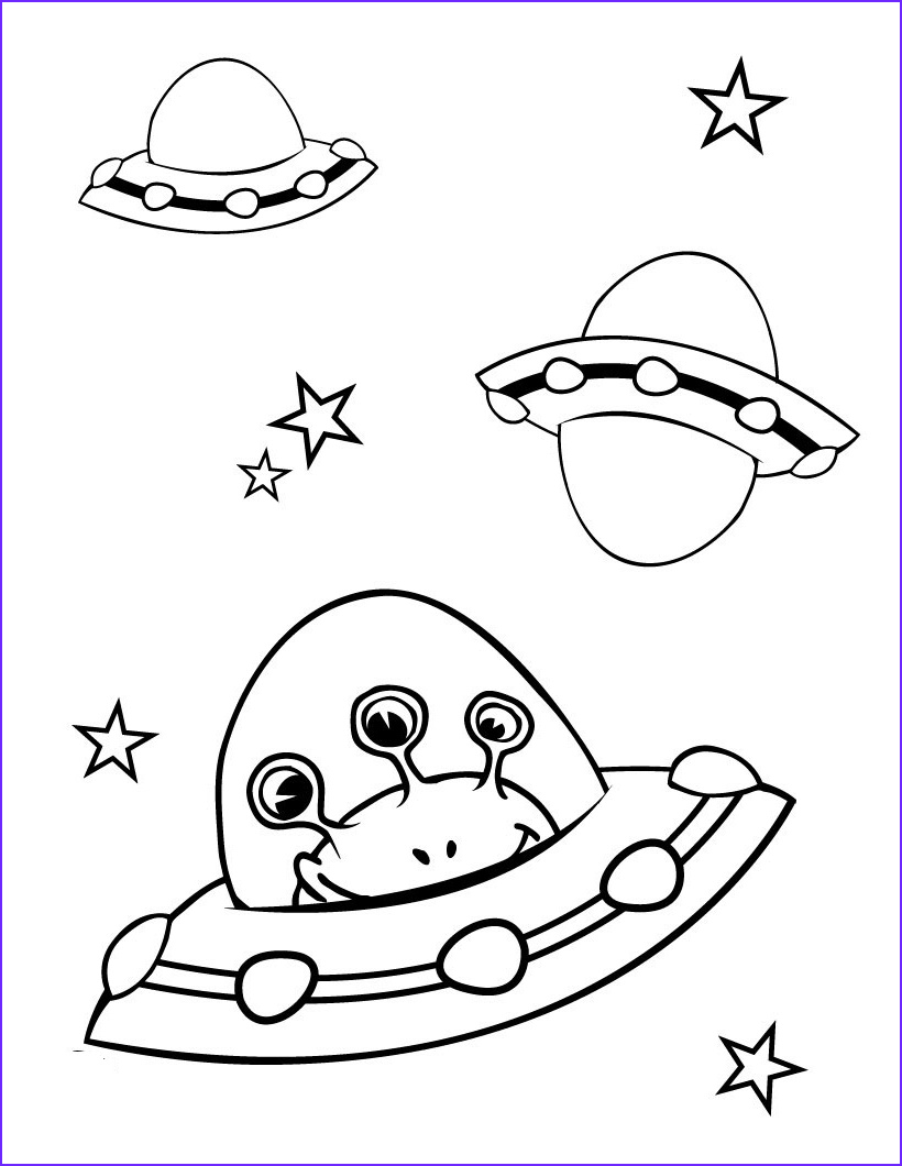 Coloring Activities for toddlers Cool Collection Free Printable Spaceship Coloring Pages for Kids