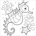 Coloring Activities For Toddlers New Collection Free Printable Seahorse Coloring Pages For Kids
