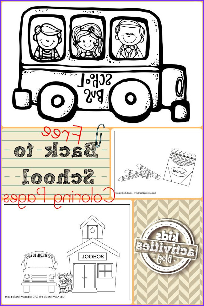 Coloring Activity Best Of Stock Free Back to School Coloring Pages