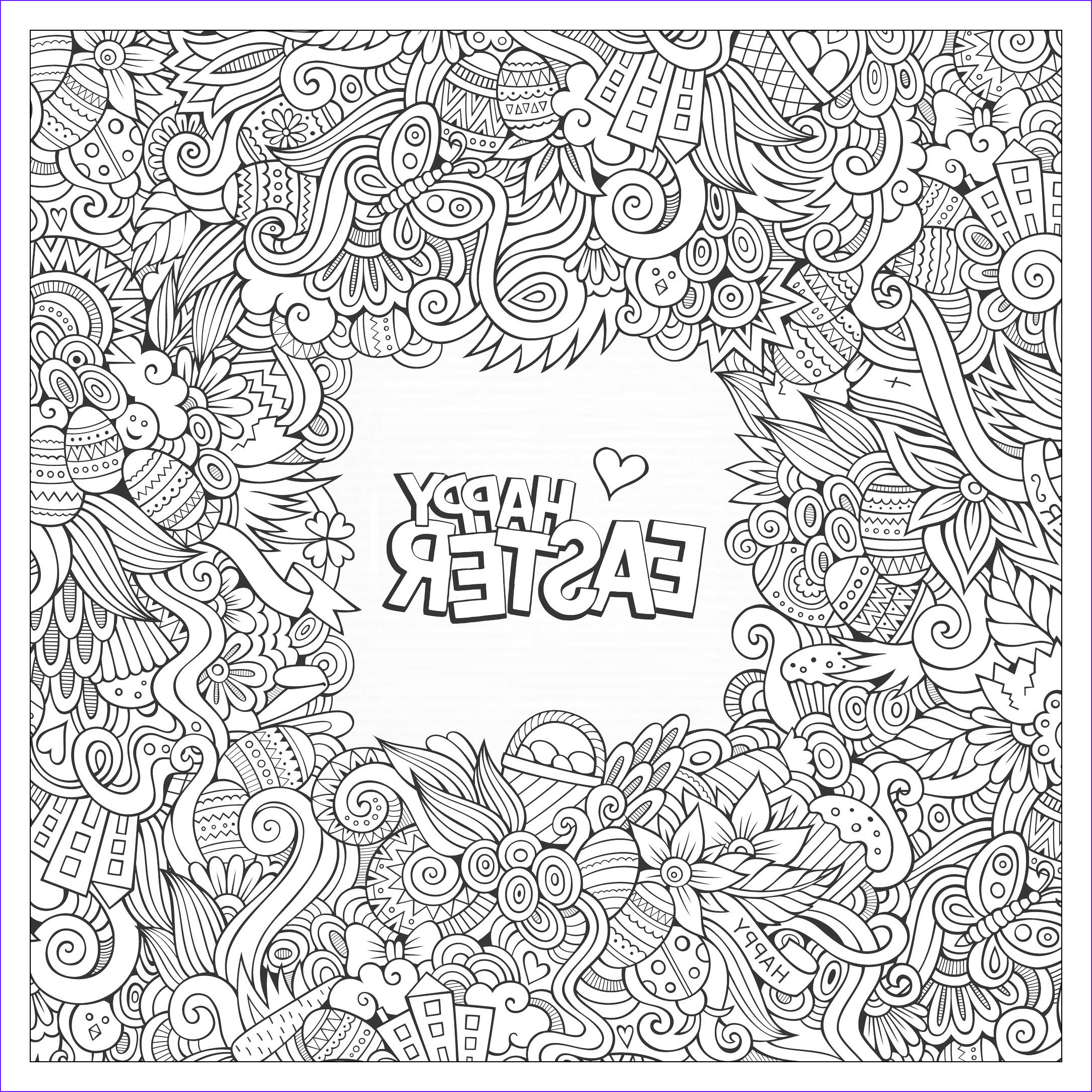 Coloring Adult Cool Collection Easter Coloring Pages for Adults Best Coloring Pages for