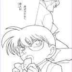 Coloring Awesome Images Coloring Book Detective Conan