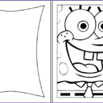 Coloring Birthday Cards Beautiful Stock Spongebob Happy Birthday Coloring Pages Coloring Home