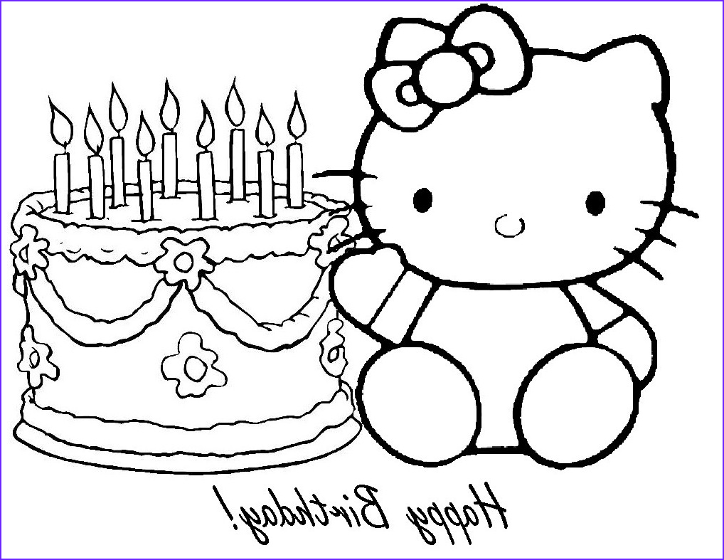 Coloring Birthday Cards Elegant Photography Free Printable Happy Birthday Coloring Pages For Kids