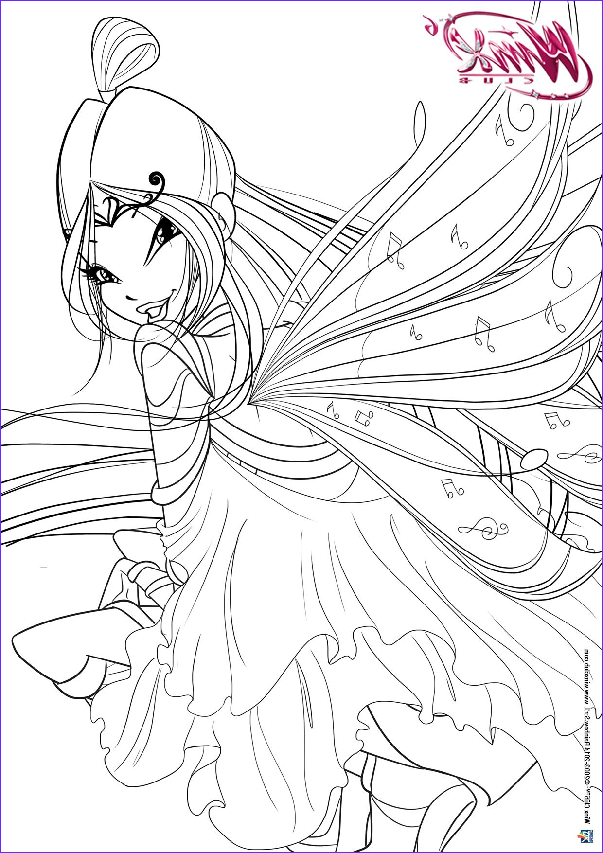 Coloring Book Clubs Cool Image Winx Club Tumblr Winx Club Pinterest