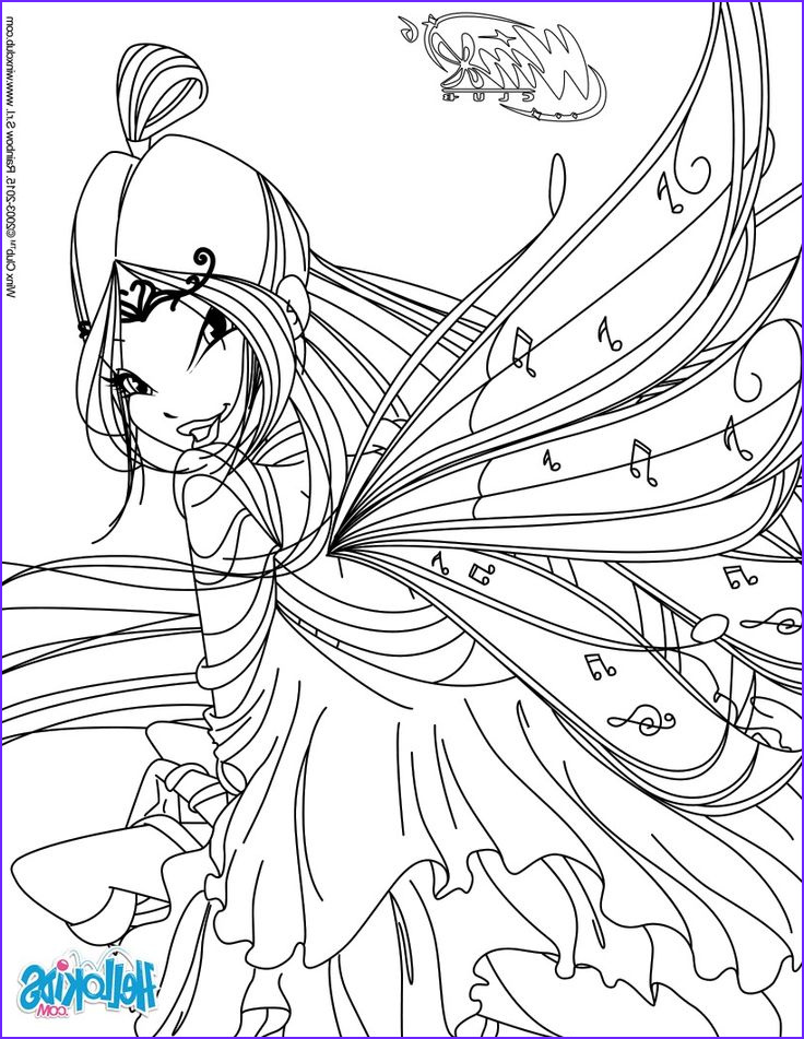 Coloring Book Clubs Inspirational Photography Musa Transformation Bloomix Coloring Page