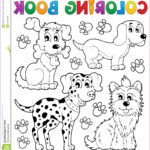 Coloring Book Dog Best Of Photos Coloring Book Dog Theme 5 Stock Vector Illustration Of