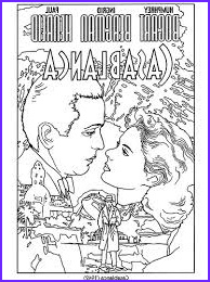 Coloring Book for Seniors Beautiful Collection Coloring Book for Seniors Classic Movie Posters