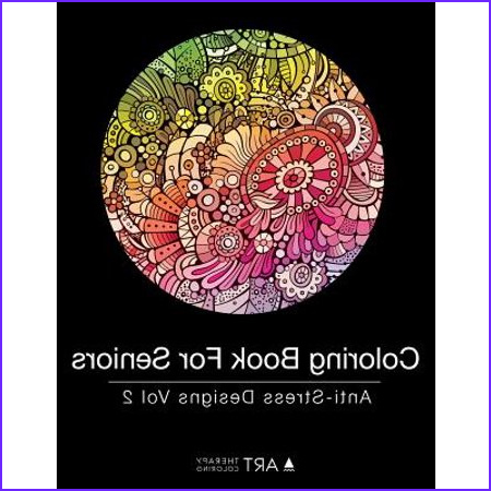 Coloring Book for Seniors Best Of Stock Coloring Book for Seniors Anti Stress Designs Vol 2