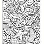 Coloring Book For Seniors Inspirational Stock 936 Best ♋adult Colouring Under The Sea Fish Mermaids