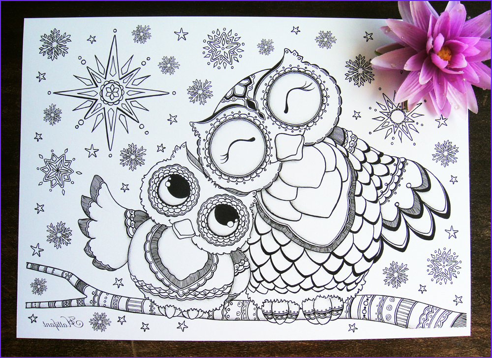 Coloring Book Owl New Photos Being Up with the Owls Hattifant