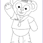 Coloring Book Pages Awesome Stock Duffy The Bear And Friends Coloring Pages