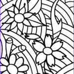 Coloring Book Pages For Teenagers Elegant Gallery Abstract Flowers Coloring Pages For Teenagers