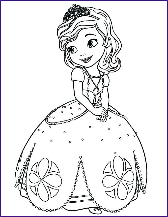 Coloring Book Pages Free Cool Photography Princess sofia Coloring Book as Well as Princess Coloring