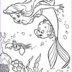 Coloring Book Pages Inspirational Gallery Sebastian And Ariel Coloring Pages For Girls Printable