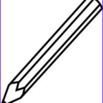 Coloring Book Pencil Best Of Collection Single Colored Pencil