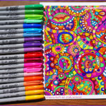 Coloring Book Pens New Photos Coloring Supplies The Best Markers Colored Pencils Gel