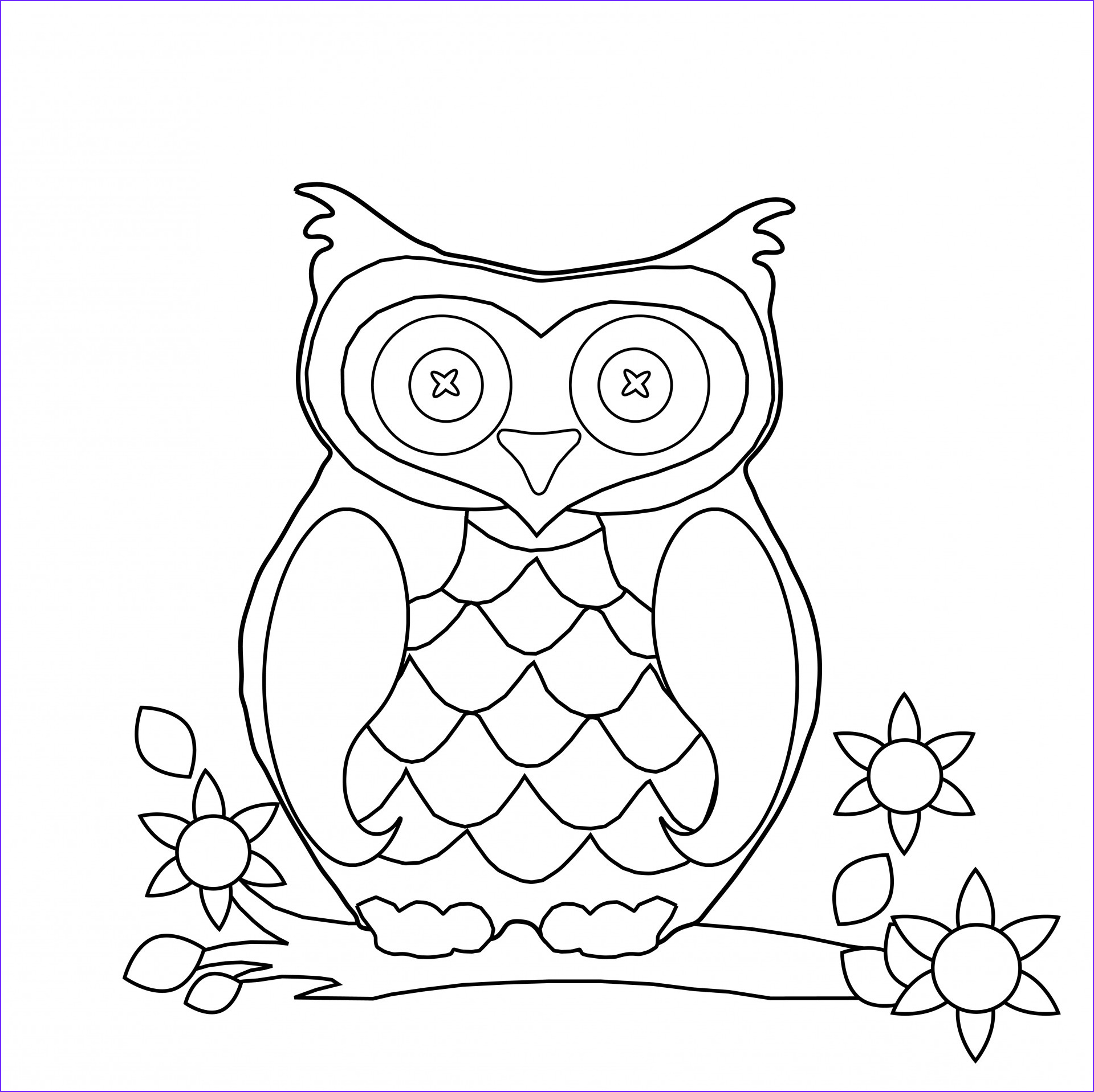 any picture a coloring page with ipiccy