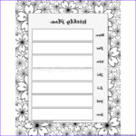 Coloring Book Planner Best Of Photography 5 Weekly Planner Coloring Pages – Getcoloringpages