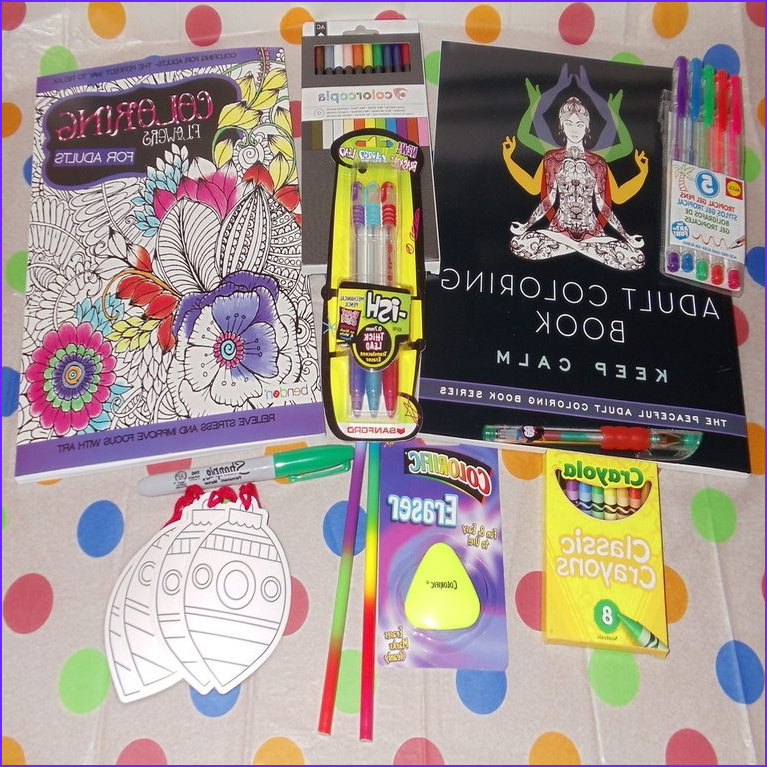 coloring book subscription box