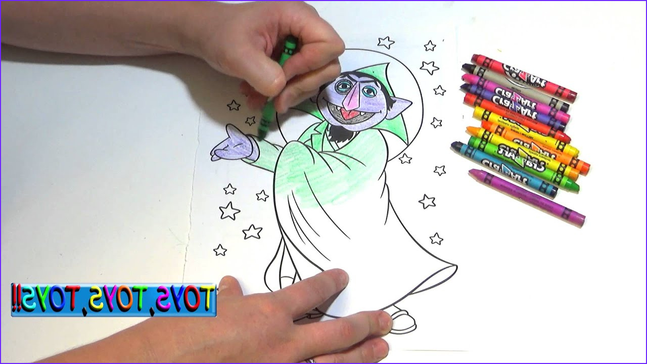 Coloring Books and Crayons Best Of Photography Sesame Street Coloring Book the Count Crayons Kids
