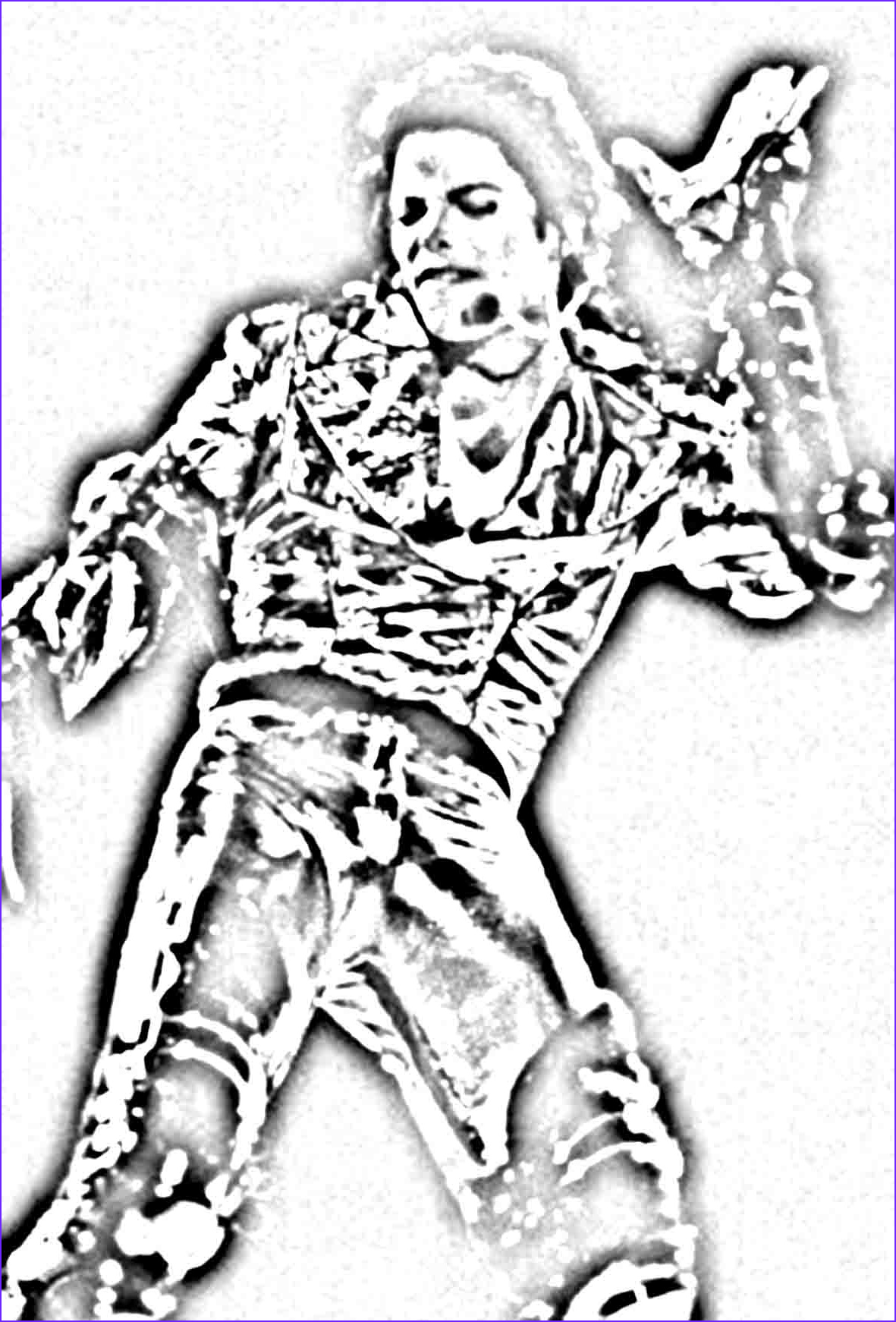 printable michael jackson coloring pages