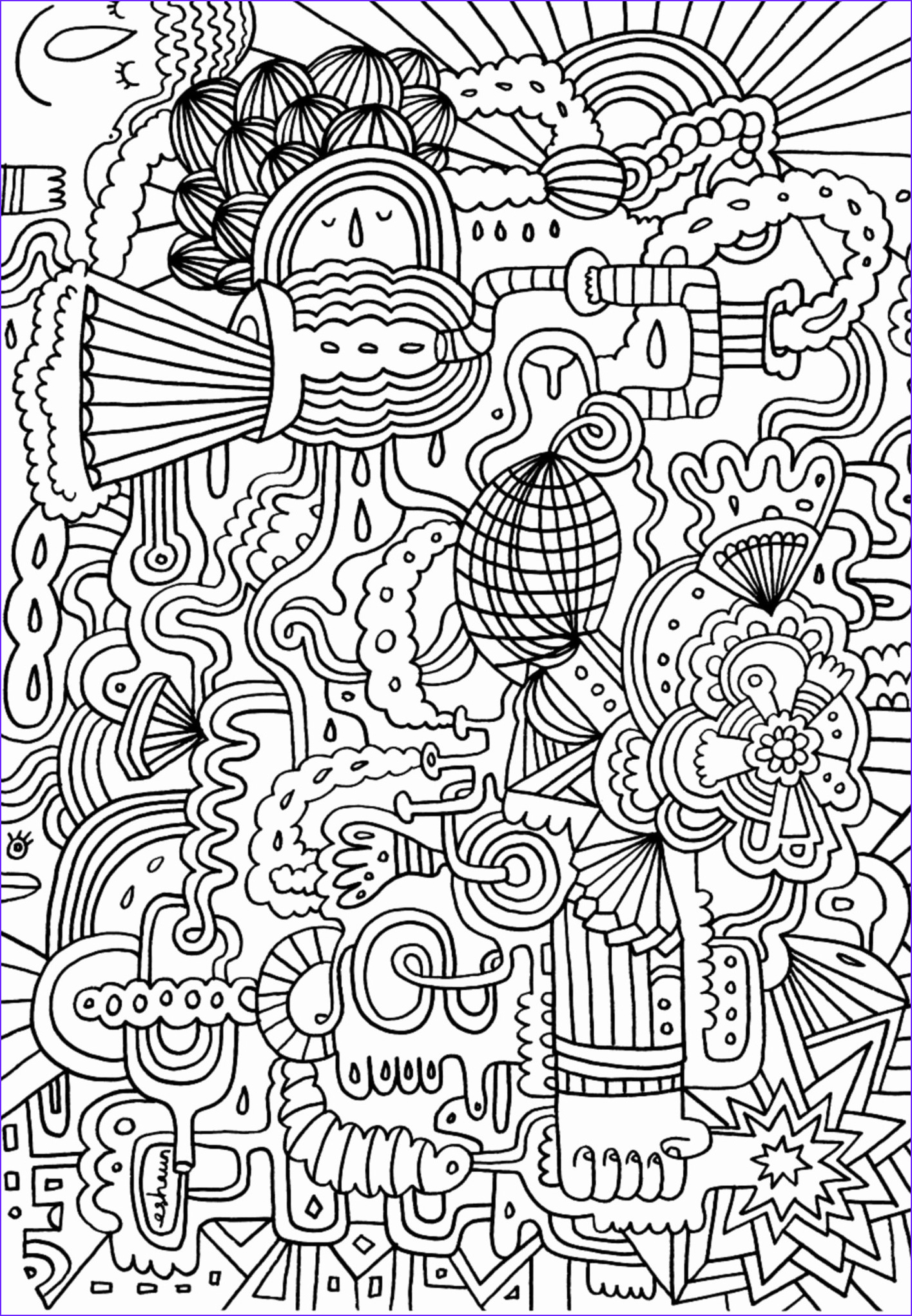 Coloring Books for Teens Awesome Gallery Plex Coloring Pages for Teens and Adults Best
