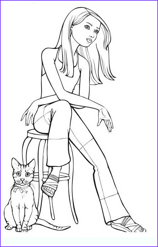 Coloring Books for Teens Awesome Images Fashion 7 Teens and Adults Coloring Pages