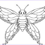 Coloring Butterflies Beautiful Image Free Printable Butterfly Coloring Pages For Kids