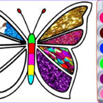 Coloring Butterflies Cool Stock Drawing For Kids Butterfly And Many