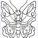 Coloring Butterflies New Stock Butterfly Coloring Pages For Kids