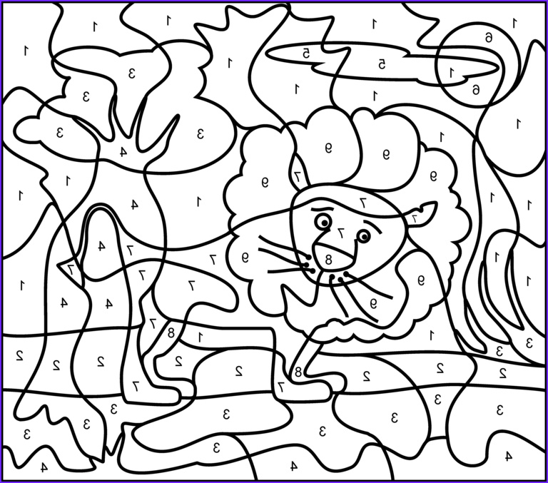 Coloring by Numbers Elegant Images Coloring Pages for Teenagers Difficult Color by Number