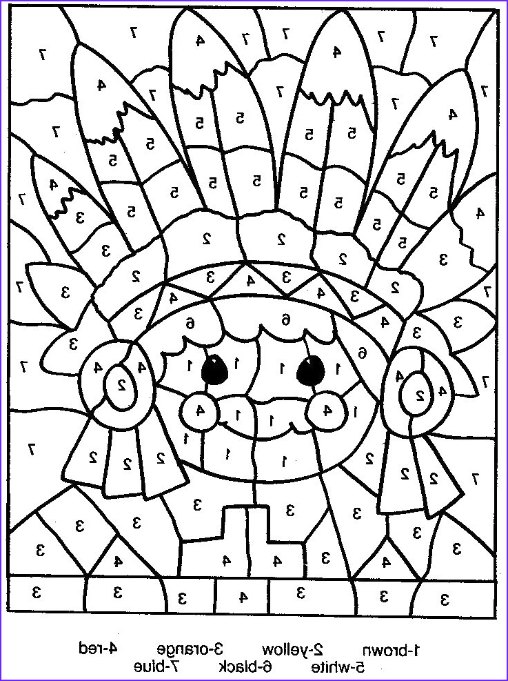 Coloring by Numbers Elegant Photos Free Printable Color by Number Coloring Pages Best