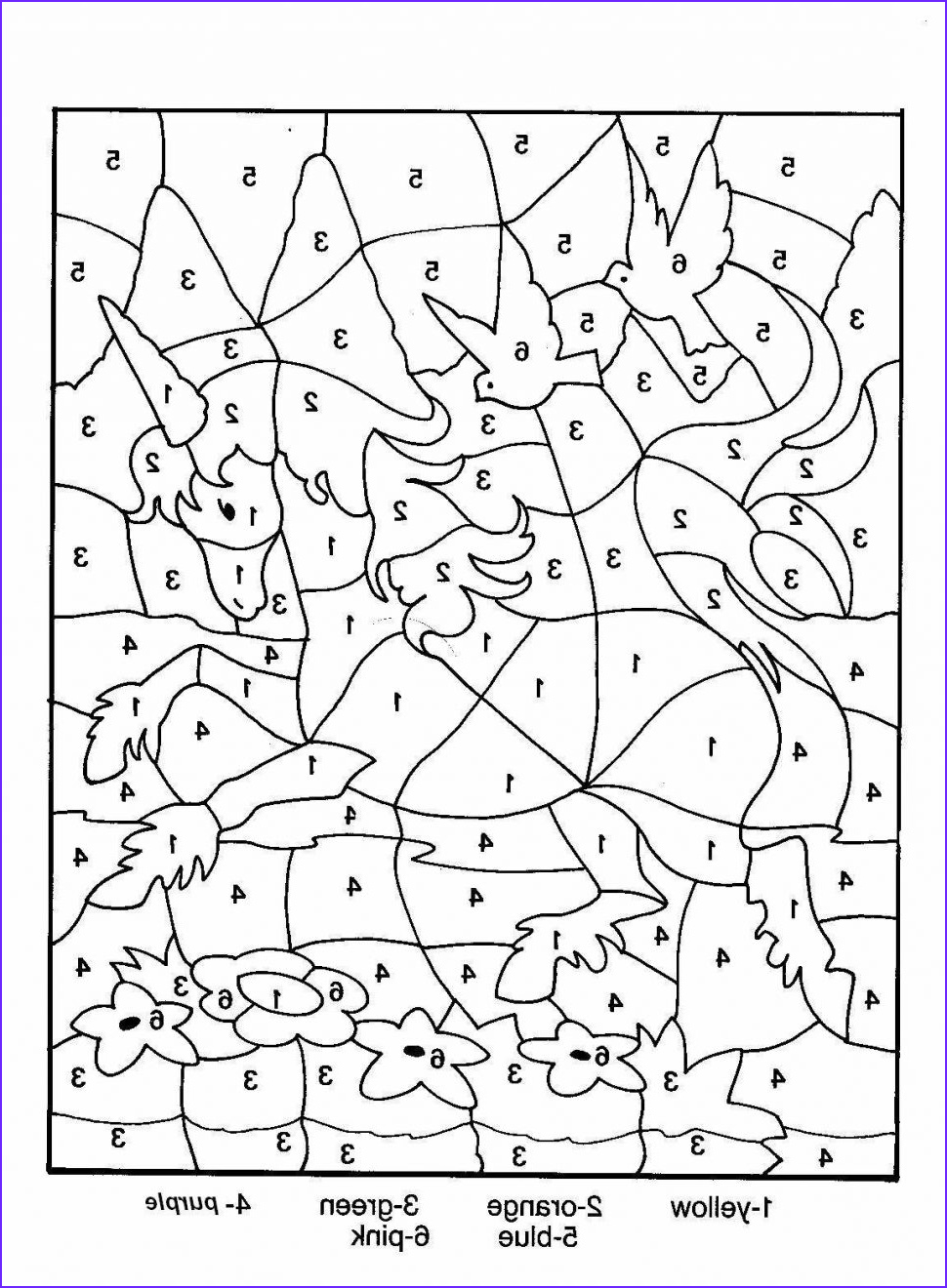 Coloring by Numbers Luxury Images Coloring Subtraction Worksheets Worksheet Mogenk Paper Works