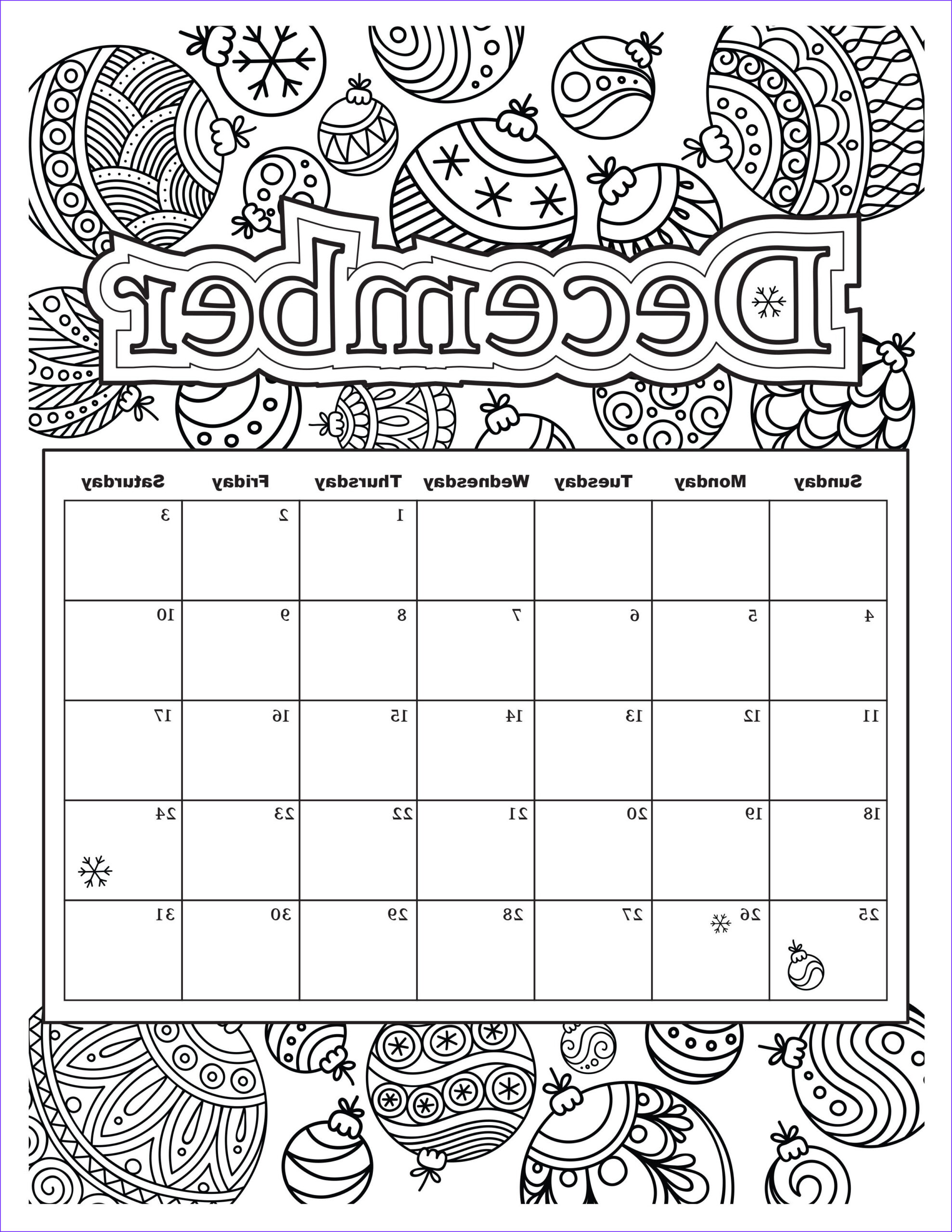 Coloring Calendar 2017 Beautiful Gallery Free Download Coloring Pages From Popular Adult Coloring