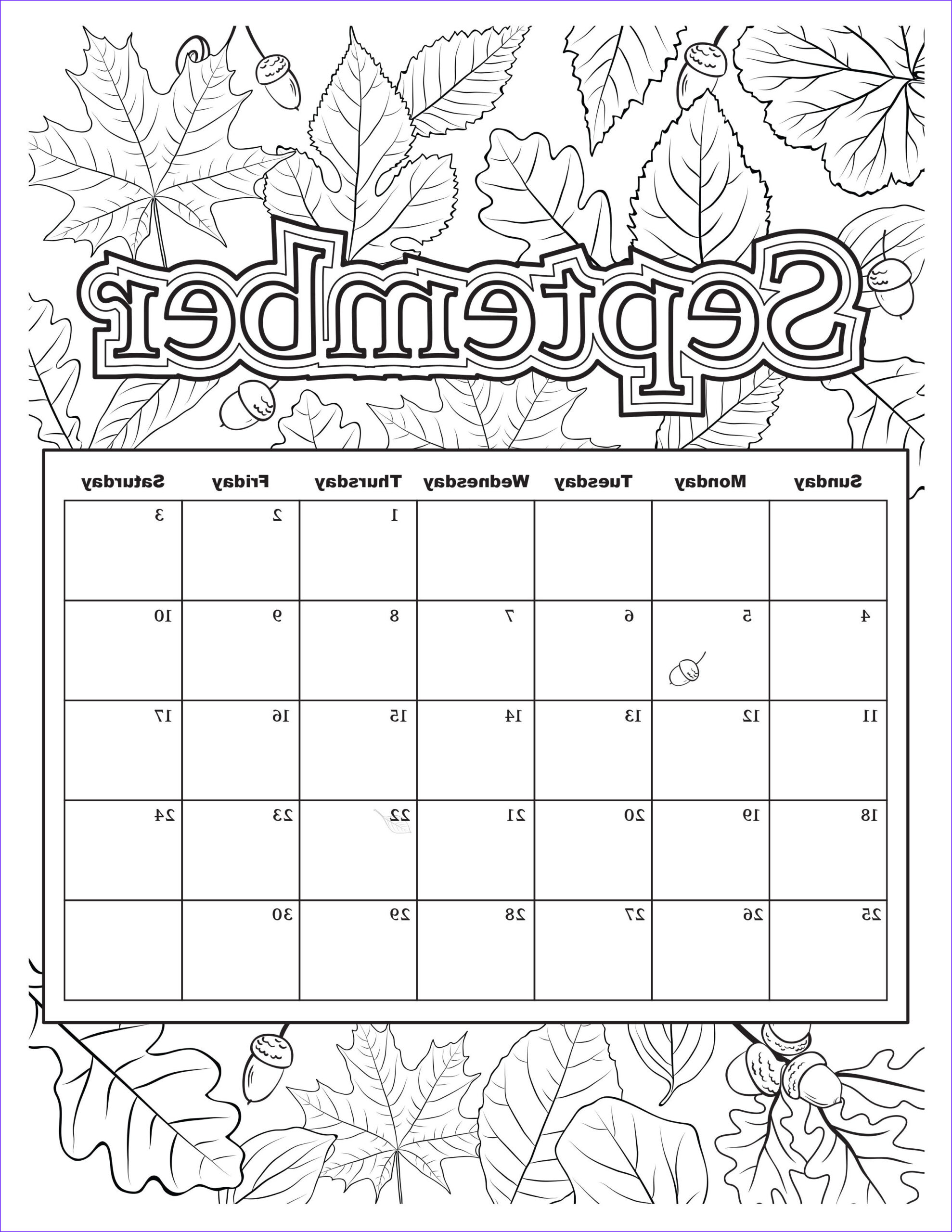Coloring Calendar 2017 Beautiful Photography Free Download Coloring Pages From Popular Adult Coloring