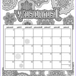 Coloring Calendar 2017 Cool Photos 12 Best Month Coloring Images On Pinterest