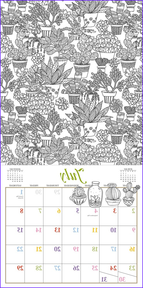 Coloring Calendar 2017 Inspirational Images the Best Adult Coloring Calendars for 2017 Cleverpedia