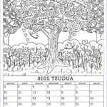 Coloring Calendar 2017 New Collection August 2016 Calendar Coloring Page