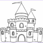 Coloring Castle Beautiful Photos Printable Castle Coloring Pages for Kids