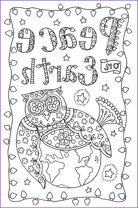 Coloring Christmas Cards Beautiful Photos 4 Cards to Color Owl Christmas Cards You Be the Artist
