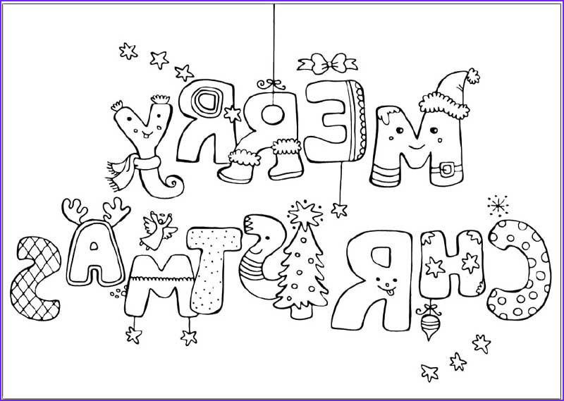 Coloring Christmas Cards Cool Image Christmas Cards Coloring Page