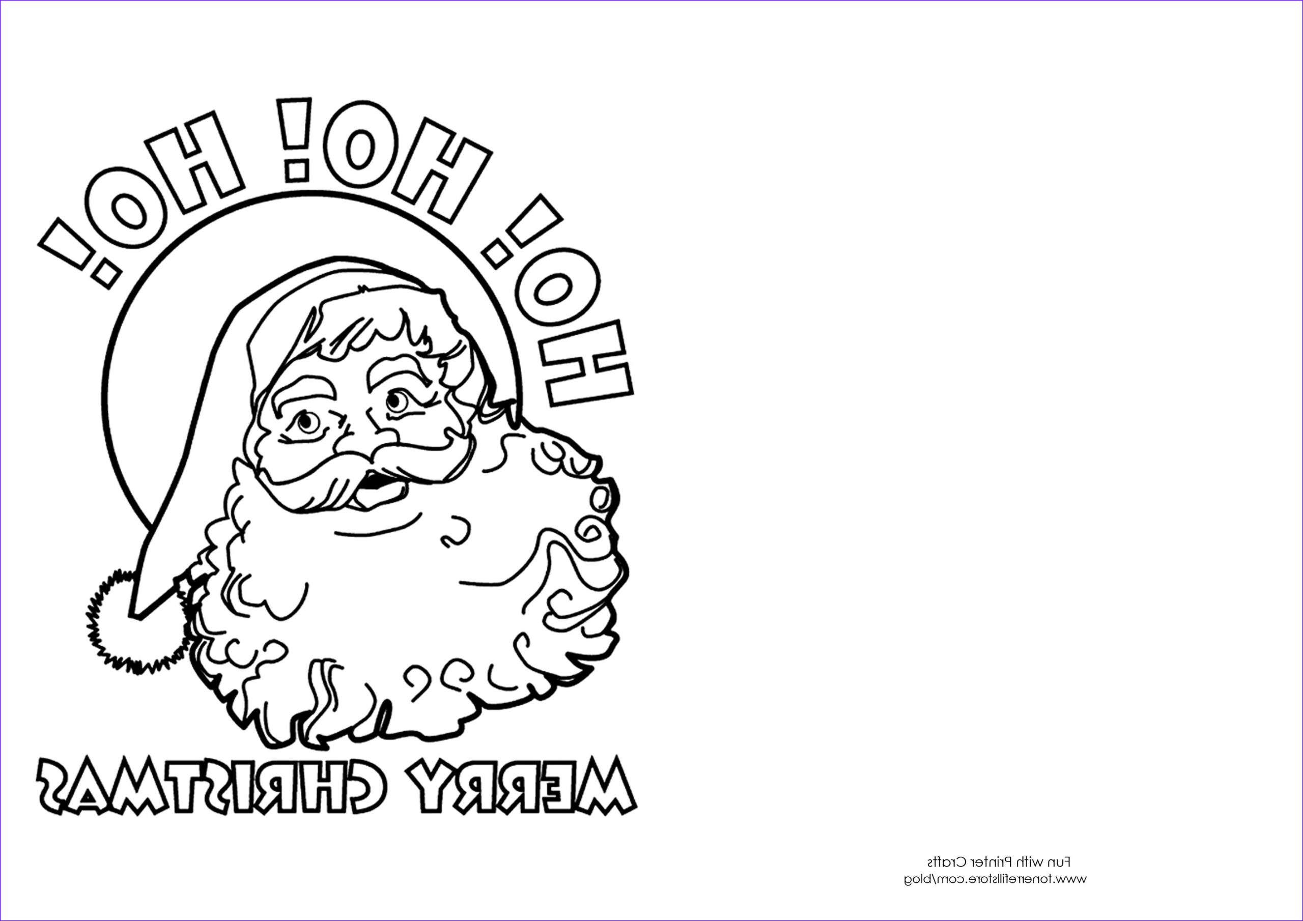 Coloring Christmas Cards New Gallery Christmas Card Coloring Pages Free Coloring Home