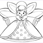 Coloring Clip Art Luxury Image Free Christmas Coloring Pages Retro Angels The