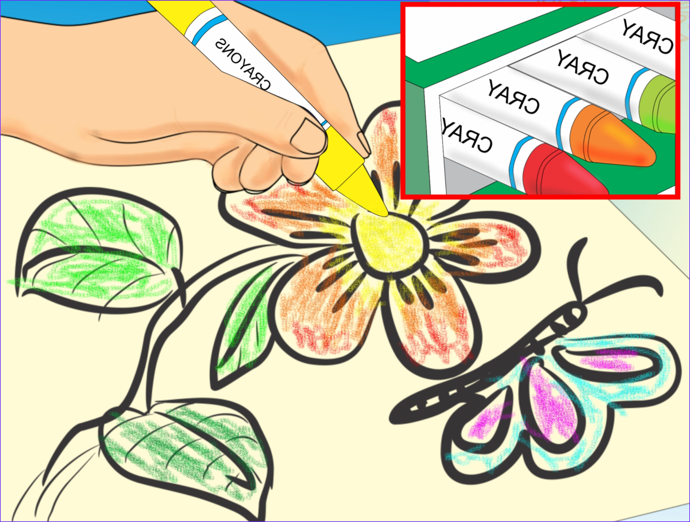 Make a Coloring Book for Young Children